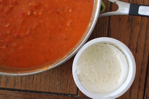 Tomato Sauce and Temp Tee = BFF