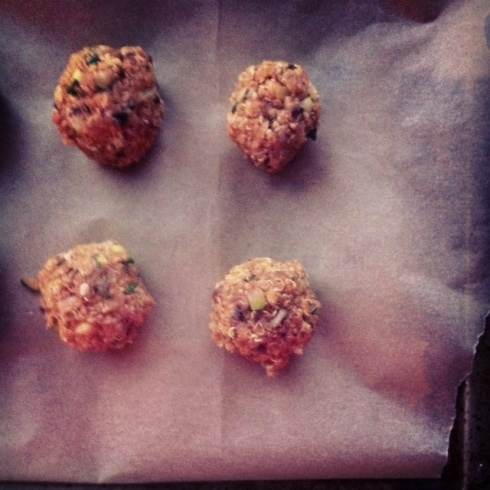 Quinoa Balls - Wish I Took More Pictures!