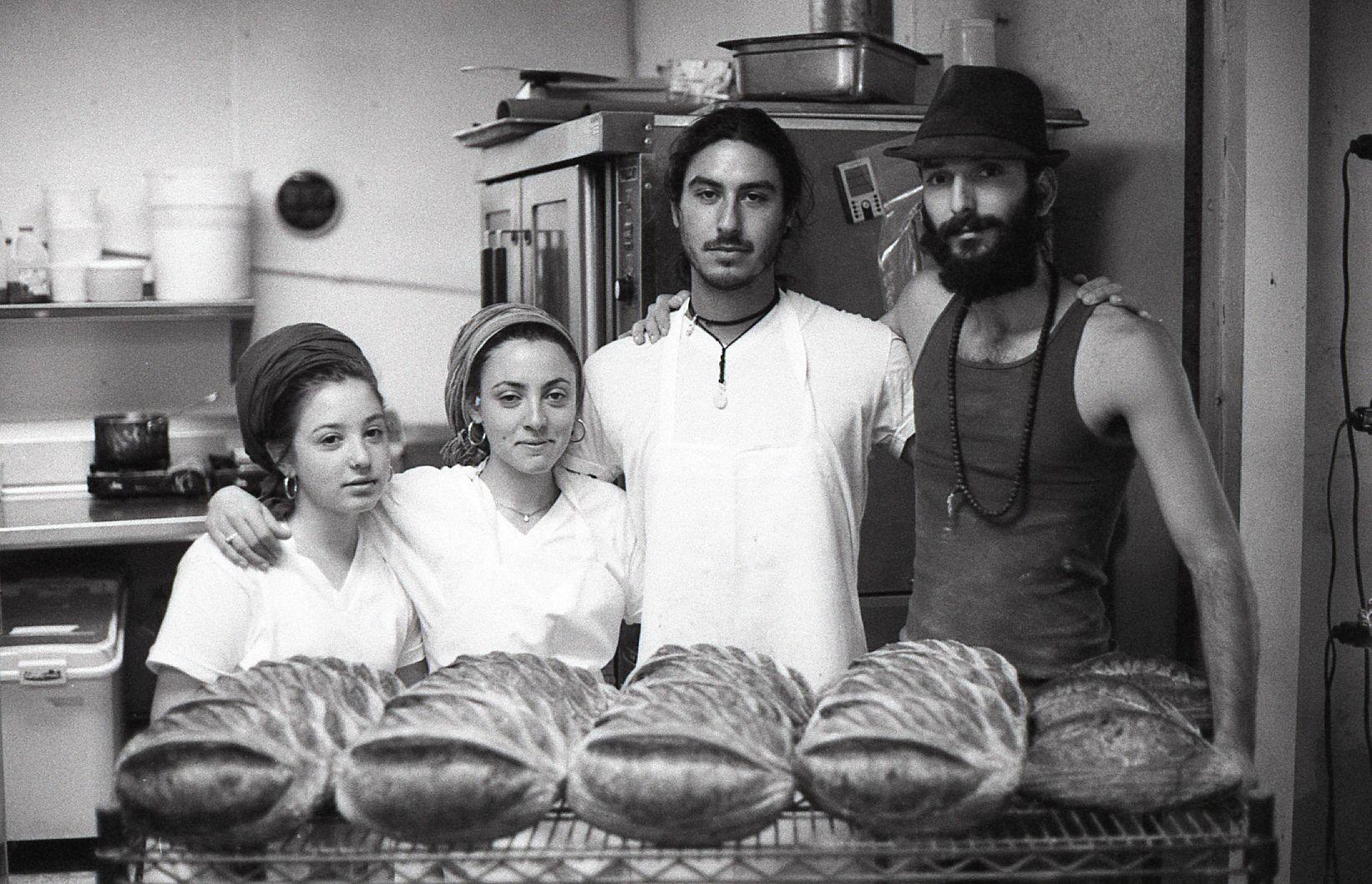 Zak and his Israeli gang of bread makers