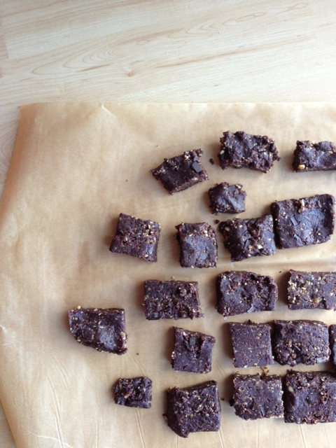 Grain-free peppermint chocolate chip brownies. One of my most requested recipes.