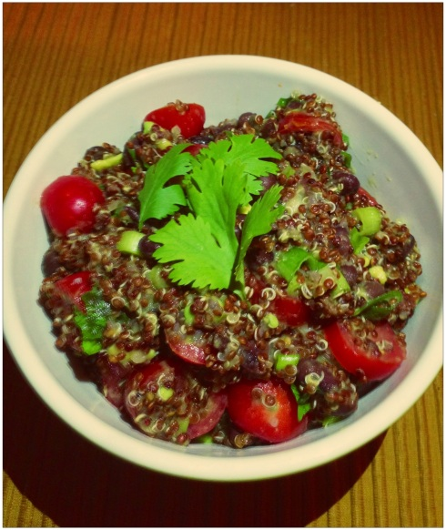 "Quinoa from the ""non-cook"".  Looks good to me!"