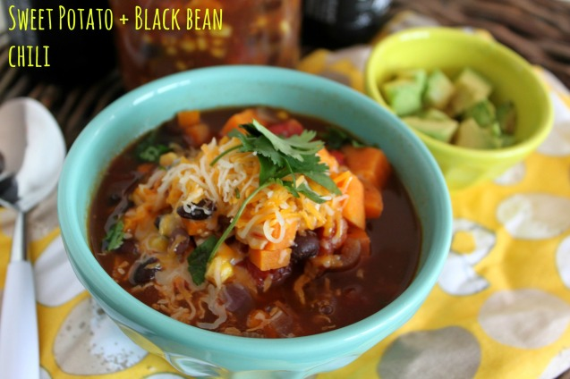 sweet potato black bean chili jewhungry blog