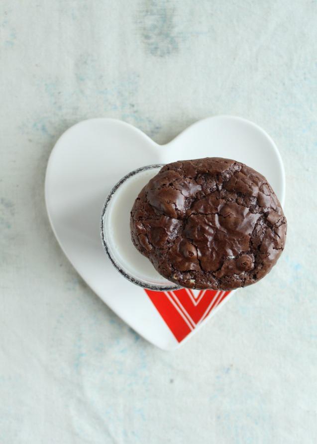 flourless brownie cookies kosher jewhungry